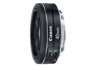 """Rent: Canon EF 40mm f/2.8 STM Prime """"Pancake"""" Lens"""