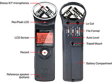 Rent: Zoom H1 - Portable Recorder