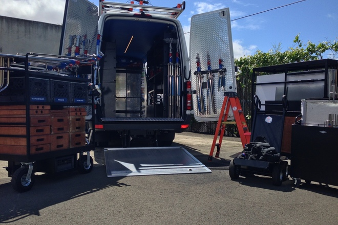 1 Ton Grip Truck W/Liftgate - Mercedes Sprinter