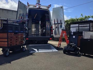 Rent: 1 Ton Grip Truck W/Liftgate - Mercedes Sprinter