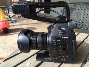 Rent: Canon C100 Dual Pixel Auto Focus Mark 1