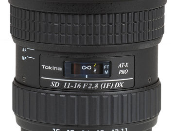 Rent: Tokina 11-16mm f/2.8 AT-X 116 Pro DX Canon APS-C
