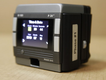 Rent: Phase one P30+ H mount Digital Back