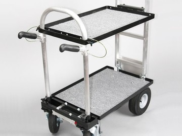 "Rent: Magliner Mini Cart w/ 8"" Casters , G5 Shelf & Locking Handle"