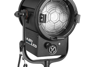 "Rent: Mole-Richardson BabyLED 150W 6.0"" Fresnel (Daylight)"