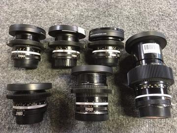 Rent: Nikon Vintage Lens Set