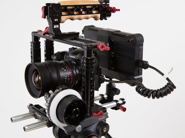 Rent: GH5 Production Bundle (Rokinon, Atomos, Tilta)