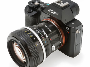 Rent: Sony Alpha a7 w/ F-Mount Adapter Included