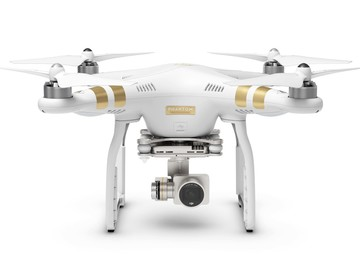 Rent: 4K Phantom 3 Professional w/Operator