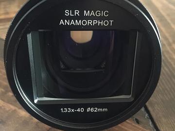 Rent:  SLR Magic Anamorphot 1,33x - 40 (Compact) Lens
