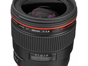 Rent: Canon 35mm f/1.4L