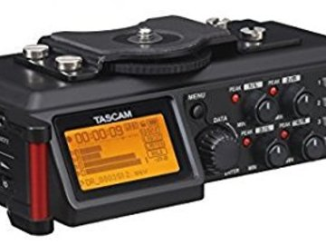 Tascam DR-70D 4-Channel Audio Recording Device