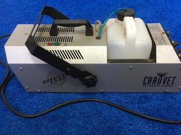 Rent: Chauvet Hurricane Fog/Haze Machine