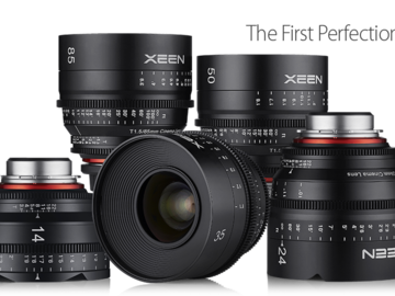 Rent: Rokinon Xeen 5 lens set - 24, 35, 50, 85, 135
