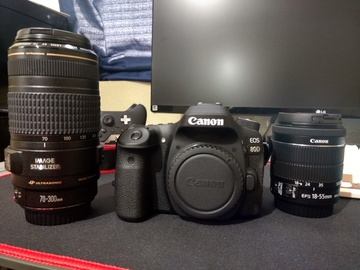 Rent: Canon EOS 80D