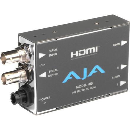 AJA HI5 HD-SDI to HDMI