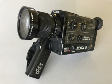 Rent: Pro8mm Max 8 Canon 1014xls w/& 24fps Crystal Sync Super 8mm