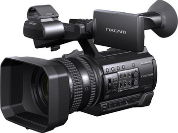 Rent: Sony HXR-NX100 Full HD NXCAM Camcorder