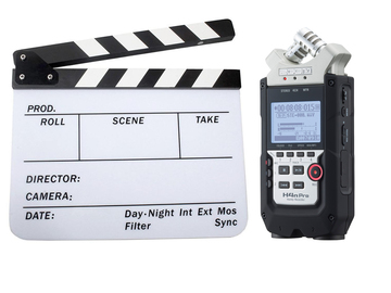 Rent: Zoom H4N PRO and Slate