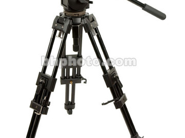 Manfrotto Heavy-Duty sticks w/ Manfrotto 516 Fluid Head
