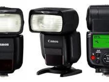 Rent: Speedlight Canon 430EX III RT (III  new not the old II)+cble