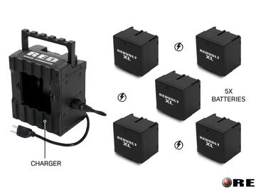 Rent: RED VOLT XL + Batteries