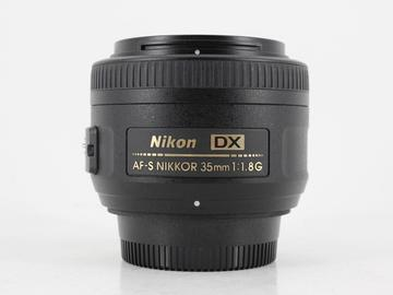 Rent: Nikon AF-S 35mm f/1.8G DX
