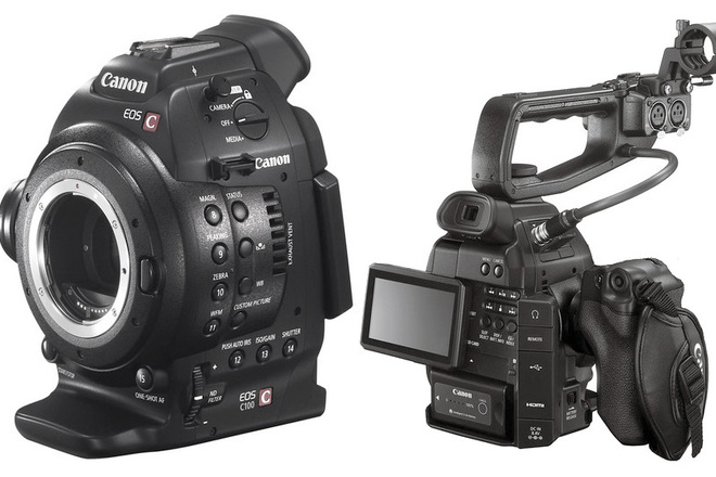 C100 w dual pixel autofocus / 3 batts/ SD cards