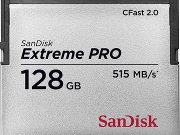 Rent: 128GB Sandisk CFast 2.0 Card