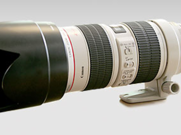 Rent: Canon 70 to 200mm f2.8 EFL