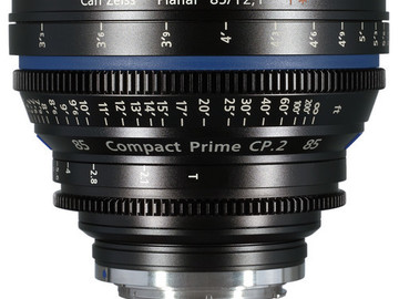 Rent: 85mm Zeiss CP2 T2.1 (114mm-D)
