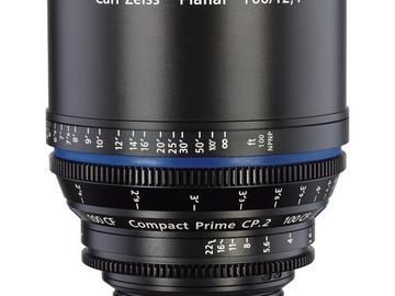 Rent: 100mm Zeiss CP2 T2.1 (114mm-D)