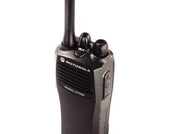 Rent: Motorola CP200 Walkie w/ Headset