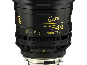 Rent: 18mm Cooke Mini S4/i T2.8 (110mm-D)