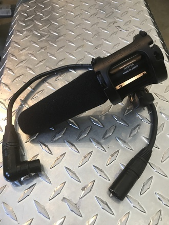 Shotgun Mic - Boom Audio-Technica 875R w XLR, Shock Mount