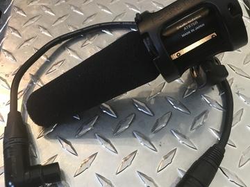 Rent: Shotgun Mic - Boom Audio-Technica 875R w XLR, Shock Mount