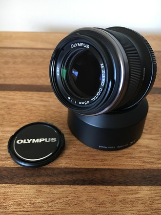 Olympus  M.Zuiko 45mm f1.8 for Micro 4/3 (MFT)