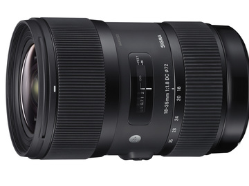 Rent: Sigma 18-35mm f/1.8 DC HSM Art [Canon] w/ .8 Pitch Lens Gear