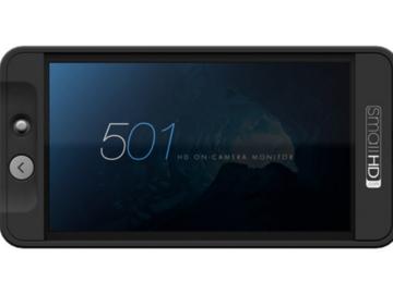 Rent: SmallHD 501 HD Camera Monitor w/ HDMI-HDMI Mini, Arm