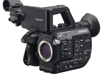 Rent: A Sony PXW-FS5 XDCAM Super 35 Camera