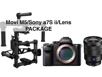 Rent: Movi M5 w/ Sony a7S ii & Sony 16-35 Package