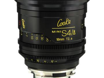 Rent: 18mm Cooke Mini S4/i T2.8 (110mm-D)/Uncoated