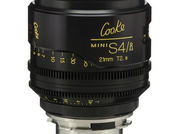 Rent: 21mm Cooke Mini S4/i T2.8 (87mm-D)/Uncoated