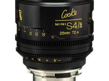 Rent: 25mm Cooke Mini S4/i T2.8 (87mm-D)/Uncoated