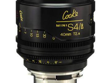 Rent: Cooke Mini S4/i 40mm T2.8/Uncoated