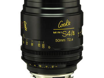 Rent: 50mm Cooke Mini S4/i T2.8 (87mm-D)/Uncoated