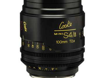 Rent: 100mm Cooke Mini S4/i T2.8 (87mm-D)/Uncoated