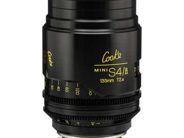 Rent: 135mm Cooke Mini S4/i T2 (87mm-D)/Uncoated