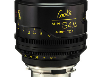 Rent: 40mm Cooke Mini S4/i T2.8 (87mm-D)