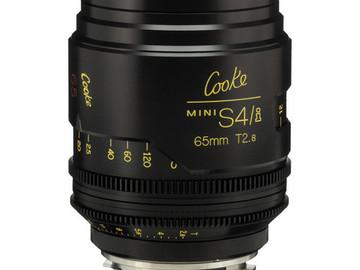Rent: 65mm Cooke Mini S4/i T2.8 (87mm-D)